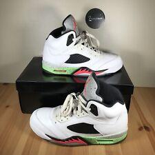 Air Jordan Retro 5 Poison Green Size 9  Condition Authentic