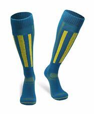 Danish Endurance Alpine Performance Socks Blue/yellow Women 11-13 Men 9.5-12.5