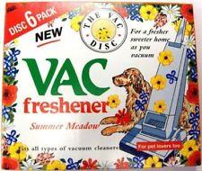 2x 6 Pack VAC Air Freshner Summer Meadow Vacuum Cleaner Pet Lovers Hoover Disc