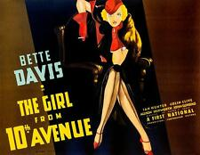The Girl From 10th Avenue Bette Davis Vintage Movie Poster Lithograph S2 Art