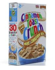 Cinnamon Toast Crunch Cereal Breakfast Food Snack
