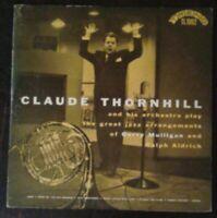 "CLAUDE THORNHILL GERRY MULLIGAN ARRANGEMENTS 10"" LP VG+ Trend TL-1002"