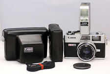 [NEAR MINT] Canon Canonet QL17 GIII Silver, With Case & Flash, NEW SEALS, CLA'd