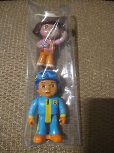 2003 Dora The Explorer & Diego Rescue Pilot (2006) PVC Action Figures, Mattel