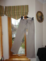 Naughty Linen Blend Trousers Size2 Waist 34inc Length 32inc,New with tags,RRP£95