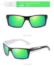 DUBERY Men Sport Polarized Sunglasses Outdoor Riding Coating Fashion Goggles New