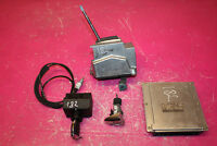 MERCEDES W215 CL500 5.0 V8 COUPE ENGINE ECU KIT WITH GEAR SELECTOR A2202673324