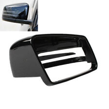 Right Door Side Black Wing Mirror Cover For Benz CLS C218 GLA X156 CLA C117 W246