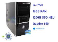 Office Business PC i7-3770 16GB 120GB SSD Win10 USB3 Computer #3