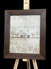 More details for georgian sampler, signed and dated 1796.  43 x 36.5  cms. will ship worldwide