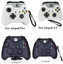 3D Xbox Gamepad Silicone Airpod Protective Case Cover Skin for Airpods 1/2/Pro 3