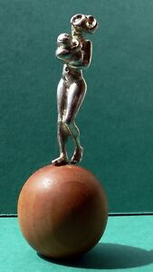 Mother & Child.. solid Sterling Silver Figurine/Sculpture