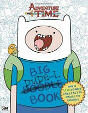 Big Dude-L Book: An Adventure Time Doodle Book by Kirsten Mayer