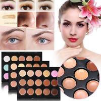 Natural Concealer Palettes 15 Colors Face Contour Concealer Corrector Cosmetics