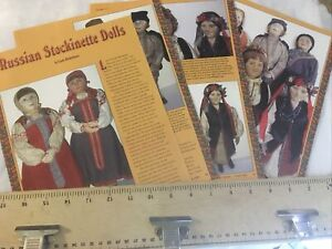 8 Page Doll History Article Russian Stockinette Dolls By Linda Holderbaum