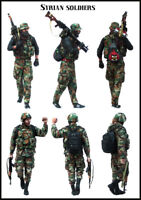 1/35 Scale Resin Figure Model Kit Syrian Soldiers (2 Figures) EM-35157