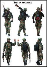 1/35 Escala resina Figura MODELO CONJUNTO soldados sirio (2 figuras) EM-35157