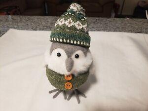 Target Spritz Winter Bird Wearing Knit Hat
