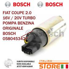 FIAT COUPE 2.0 16V / 20V TURBO POMPA BENZINA ORIGINALE BOSCH 46480607 0580453427