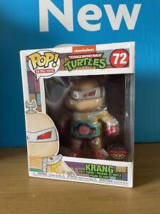 "Funko Pop! Krang #72 6"" Exclusive Pop! Retro Toys TMNT"