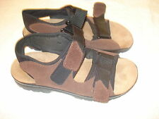 Women's Flyflot Brown Suede Leather Sandals-42/10.5-11