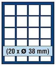 SAFE 6838 NOVA Element exquisite Holz-Münzbox für 20 Münzen mit 38 mm Durchmesse