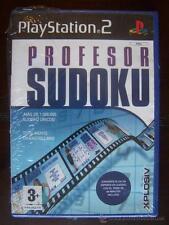 PS2 PROFESOR SUDOKU - PAL ESPAÑA PLAYSTATION 2 - NUEVO, PRECINTADO (4Z)