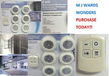 5 LED Wireless Under Kitchen Cabinet/Cupboard Light with Remote Control Touch