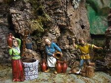Landi Nativity Scene Figures Set/3 Presepio Pesebre Manger Scene Creche Figures