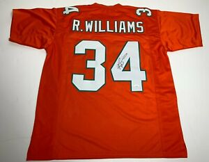 Ricky Williams Signed Miami Dolphins Football Jersey JSA WIT104968