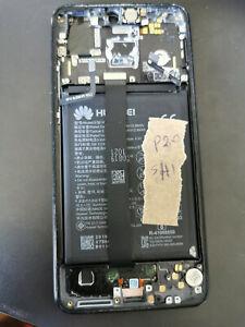 cracked GENUINE HUAWEI P20 EML-L09 LCD DISPLAY