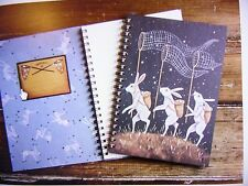 "Hester & Cook ""Star Catchers"" Journal Spiral Bound Hard Covers Made in America"