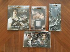 Genuine Twilight Saga Replica Bracelet, Choker, Triple Chain and Ring Jewellery