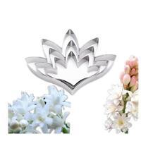 3 Pcs Baking Mould Flower Petal Shapes Silicone Fondant Sugarcraft Mold 6T