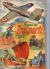 ALBUM FIGURINE STORIA DEI TRASPORTI ATTRAVERSO I SECOLI 1951 LAMPO COMPLETO -3