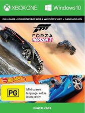 Forza Horizon 3 with Hot Wheels add - on Xbox One/PC Digital Code - New