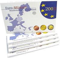 Deutschland 19,40 Euro 2003 PP KMS 1 Cent bis 2 Euro Mzz. A - J komplett im Etui