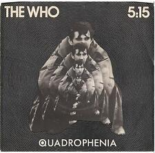 THE WHO--PICTURESLEEVE ONLY---(5:15)--PS--PIC--SLV