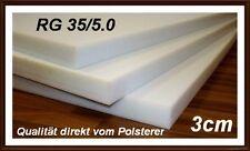 Schaumstoff Platte Schaumstoffplatte RG35 200x60x3 cm