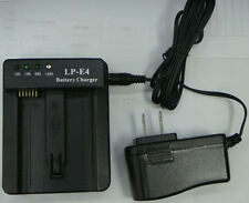 New Battery Charger for CANON LP-E4 LPE4 LC-E4 LCE4 EOS 1D 1Ds Mark III IV 3 4