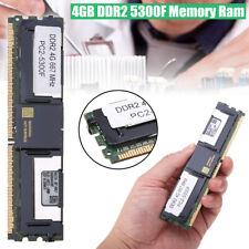 4GB Memory RAM DDR2 667Mhz 240Pin DIMM 1.8V ECC PC2-5300F For PC Desktop Hot