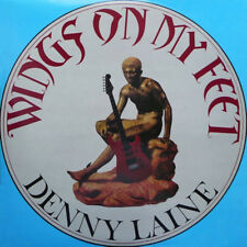Denny Laine ‎– Wings On My Feet LP 1987 President Records UK ‎– PTLS 1087