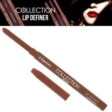 Collection Twist Up Lip Definer Long Lasting Lipstick Colour Makeup Cappuccino