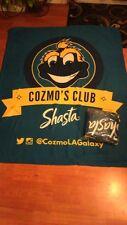 Los Angeles LA Galaxy 2016 Mascot Cozmo Club Blanket SGA