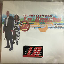 La BOUCHE YOU WON'T FORGET ME Remixes CD Sealed 5 TRK