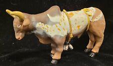 Schylling Rubber Bull Toy Animal Farming Farm Animal Cow Bell 6