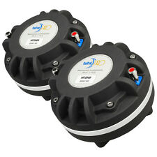 "Pair Faital Pro2000 2"" Compression Horn Driver Neodymium 200W Tweeter Speaker"
