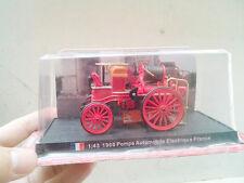 1/43 Scale Pompe Automobile Electrique France - 1900 Fire Truck Diecast Model