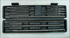 11 Piece Masonry SDS Drill Bits Set