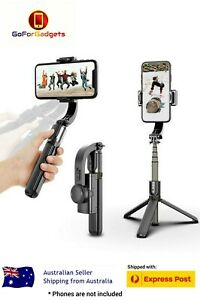 360° Handheld Gimbal with Stabilizer 3 in 1 Selfie Stick Tripod for Smartphone
